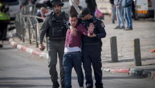 Izraelska policja w akcji