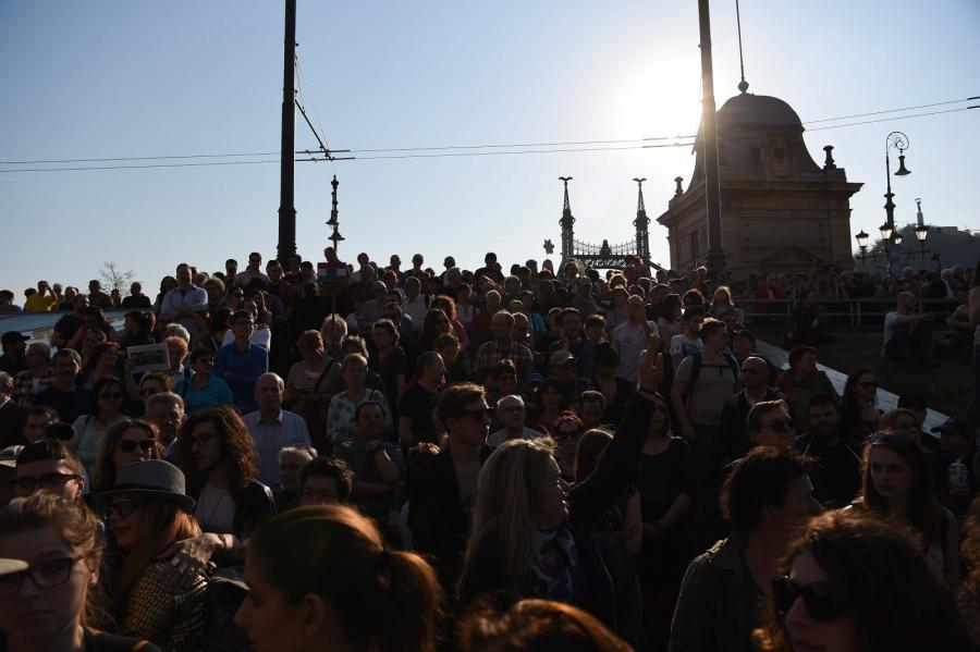 Budapeszt manifestacja