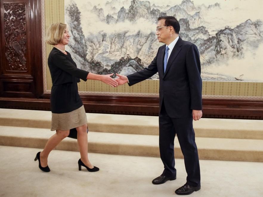 Federica Mogherini i Li Keqiang