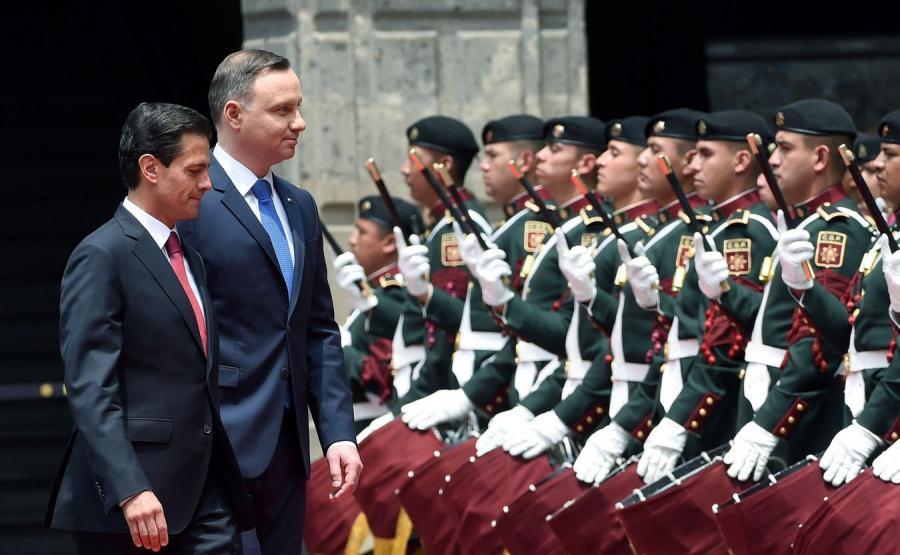 Prezydent Meksyku i Prezydent Polski