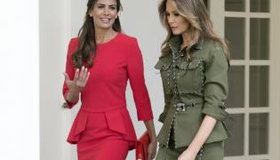 Juliana Awada i Melania Trump