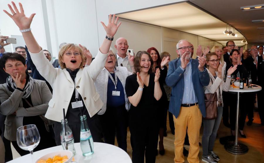 Radość sympatyków CDU
