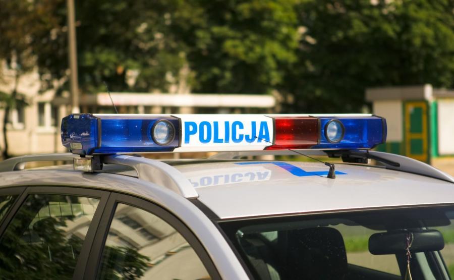 Policjanci przedstawili mężczyźnie zarzuty znieważenia publicznego na tle rasowym.