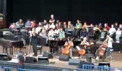 Nine Inch Nails podczas koncertu w ramach Bridge School Benefit (22 października 2006)