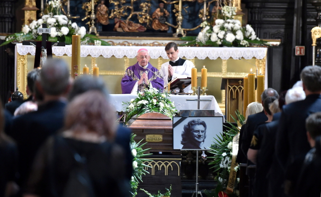 Pogrzeb Zbigiewa Wodeckiego w Krakowie