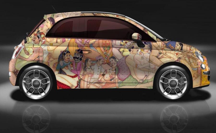 Fiat 500 w scenach z Kamasuty bez cenzury