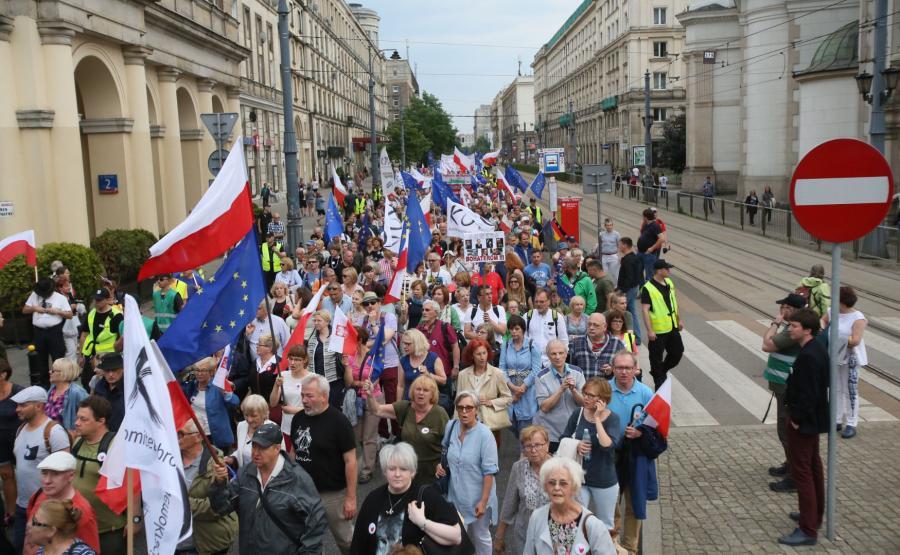 KOD w Warszawie