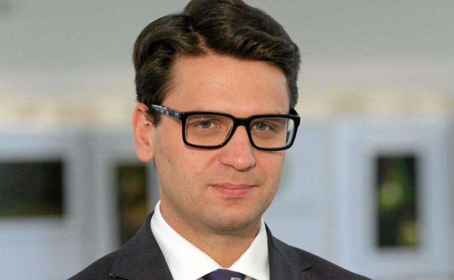 Mariusz A. Kamiński w 2014 roku