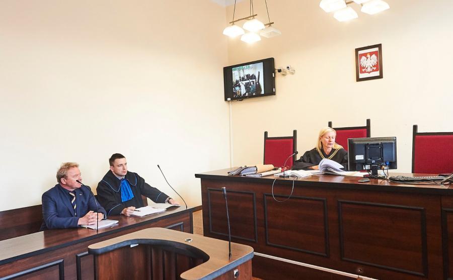 Janusz Wojciechowski w sądzie