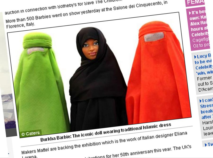 Barbie przechodzi na islam?