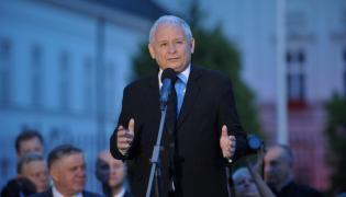 Wystąpienie prezesa Prawa i Sprawiedliwości Jarosława Kaczyńskiego