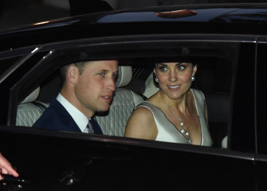 Wizyta książęcej pary w Warszawie