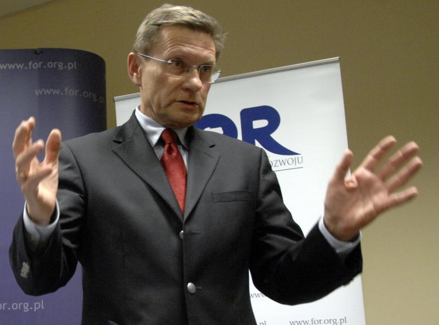 Balcerowicz: Nie zależy mi na zaszczytach