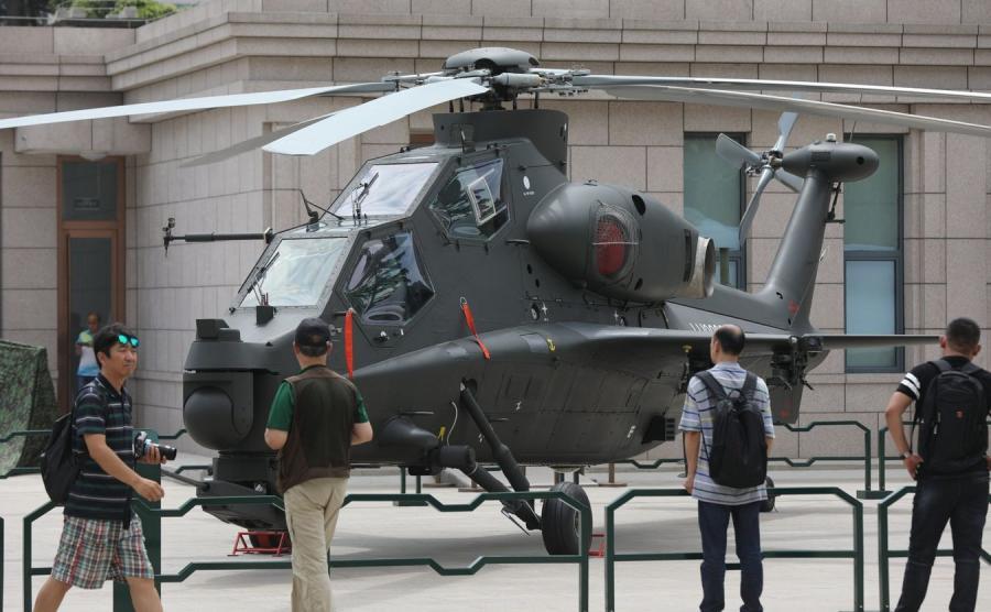 Wystawa militarna w Pekinie