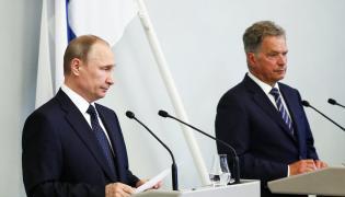 Władimir Putin i Sauli Niinisto