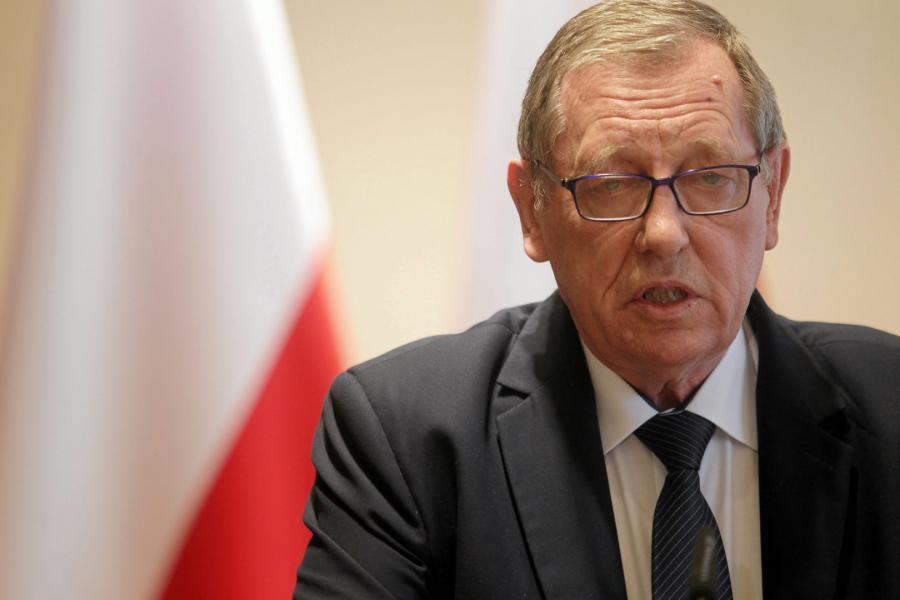 Minister środowiska Jan Szyszko