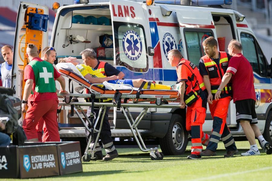 Tadeusz Socha odwieziony karetką do szpitala