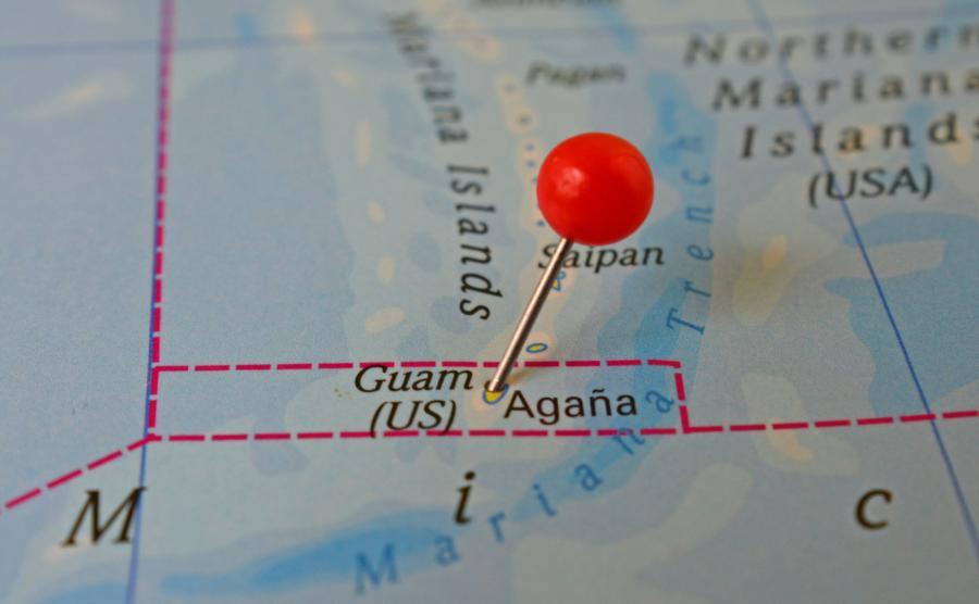 Wyspa Guam w archipelagu Marianów