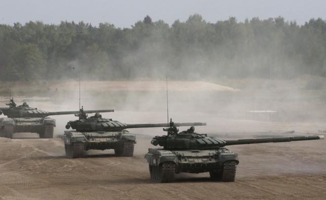 """Międzynarodowe wojenno-techniczne forum """"Armia-2017"""""""