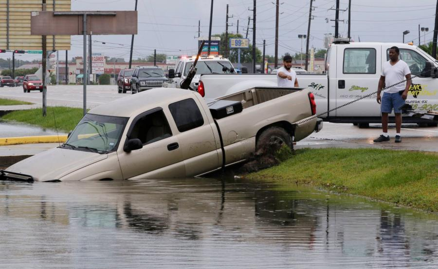Huragan Harvey zaatakował Teksas