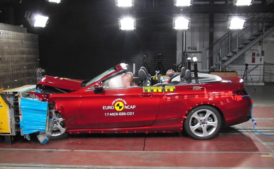 Mercedes klasy C kabriolet