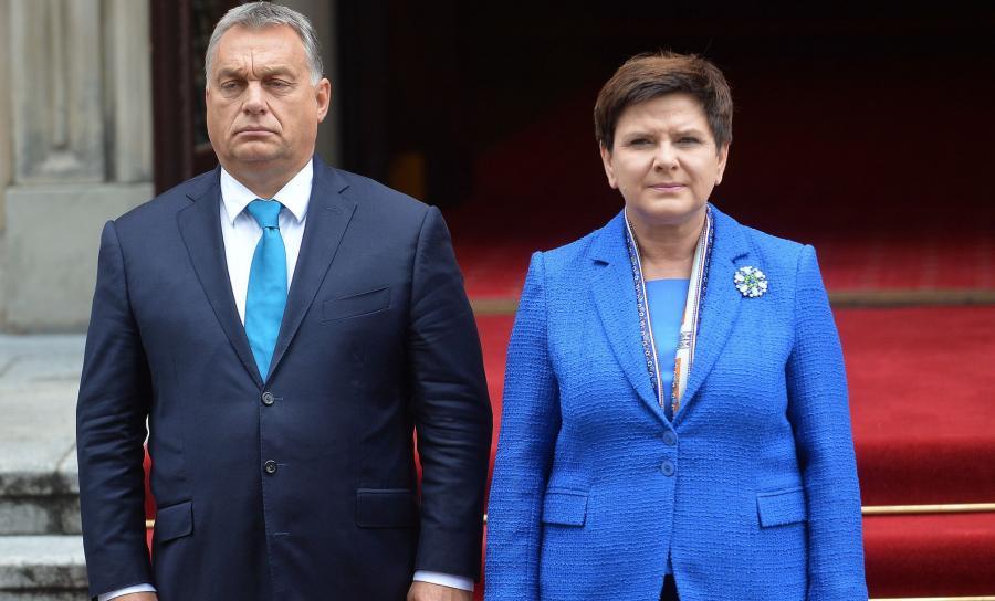 Victor Orban i Beata Szydło