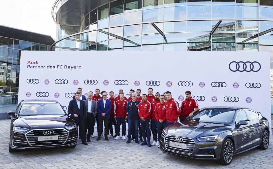 Audi i Bayern Monachium od 15 lat grają do jednej bramki :)