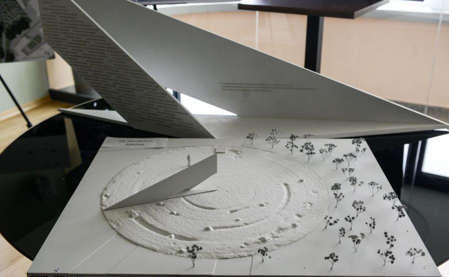 Jeden z projektów pomnika Lecha Kaczyńskiego