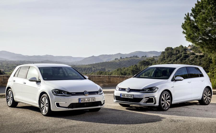 Volkswagen e-Golf i Golf GTE