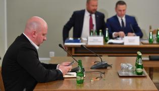 Michał Majewski przed komisją śledczą ds. Amber Gold