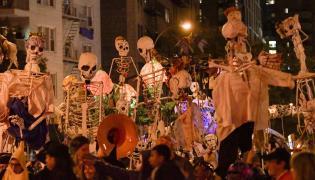 Parada z okazji Halloween w Nowym Jorku