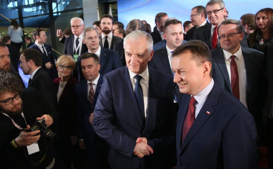 Jarosław Gowin i Mariusz Błaszczak