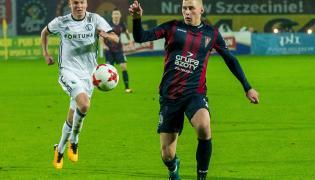 Piłkarz Pogoni Szczecin Jakub Piotrowski