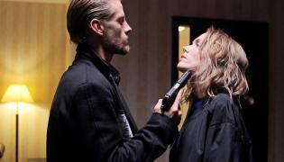 """Sebastian Fabijański oraz Agnieszka Dygant w filmie Patryka Vegi """"Kobiety mafii"""""""