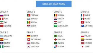 Symulacja losowania grup MŚ 2018