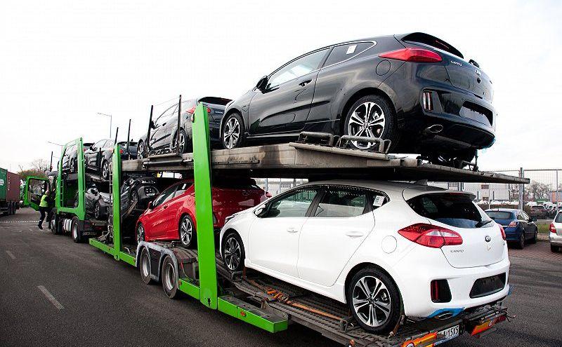 Na polskie wybrzeże dotrą kolejne transporty samochodów Kia