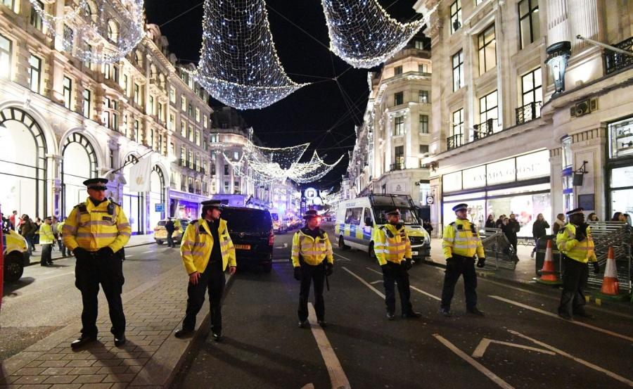 Policja w Londynie