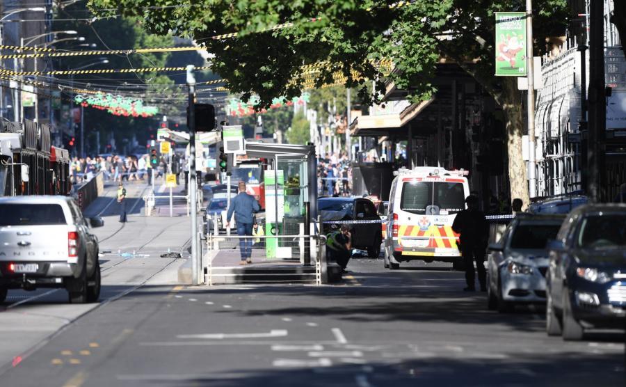 Wypadek w Melbourne