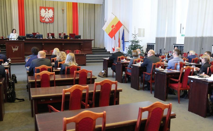 Nadzwyczajna sesja Rady Miejskiej w Łodzi