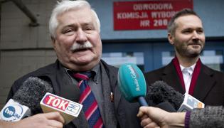 Lech Wałęsa i Jarosław Wałęsa