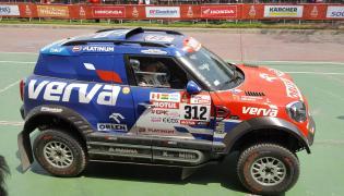 Kuba Przygoński i Tom Colsoul w Mini John Cooper Works Rally