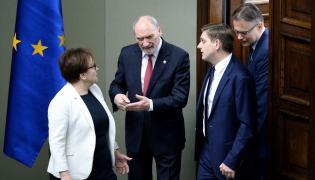 Anna Zalewska, Antoni Macierewicz, Arkadiusz Mularczyk, Bartosz Kownacki