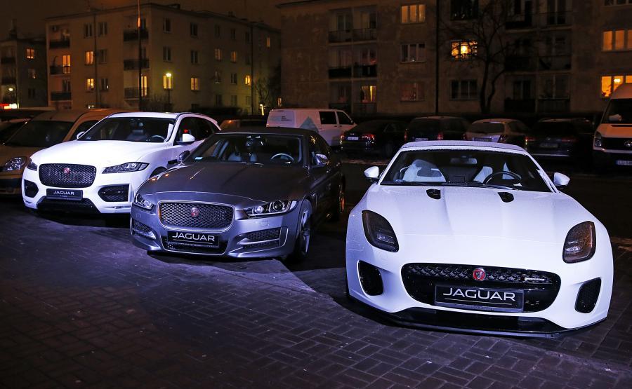 Jaguar F-Pace, XE i F-Type - starsi bracia E-Pace