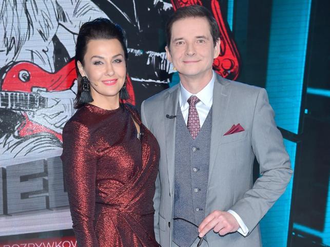 Anna Popek i Przemysław Babiarz