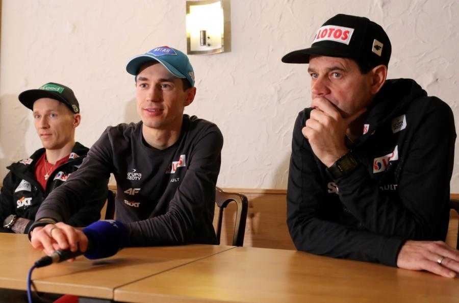 Kamil Stoch i Stefan Horngacher
