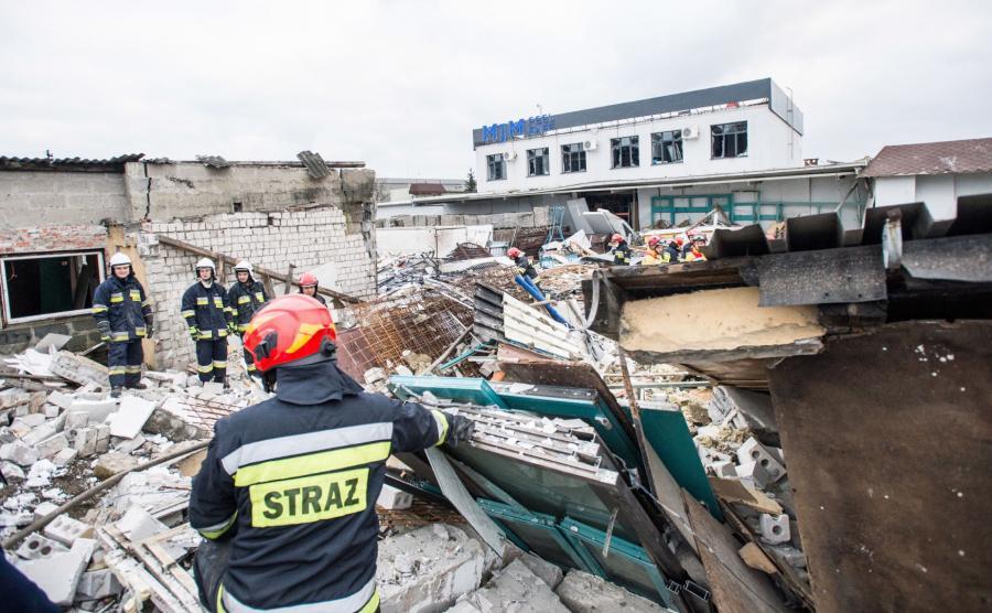 Akcja ratunkowa w Bydgoszczy