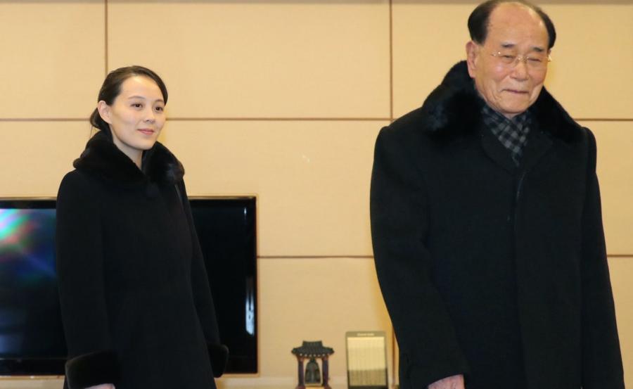 Kim Jo Dzong i Kim Dzong Nam