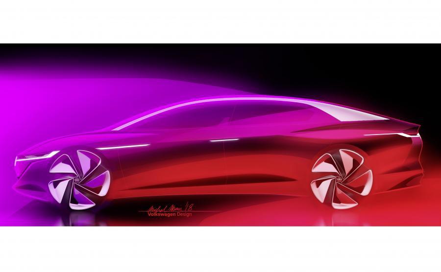 Volkswagen I.D. VIZZION wskazuje kierunek w jakim niemiecki producent zamierza pójść w dziedzinie techniki i stylistyki swoich przyszłych modeli elektrycznych