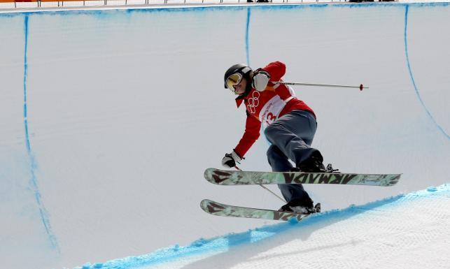 Najgorsza narciarka w Pjongczangu. Na igrzyska dostała się... sposobem