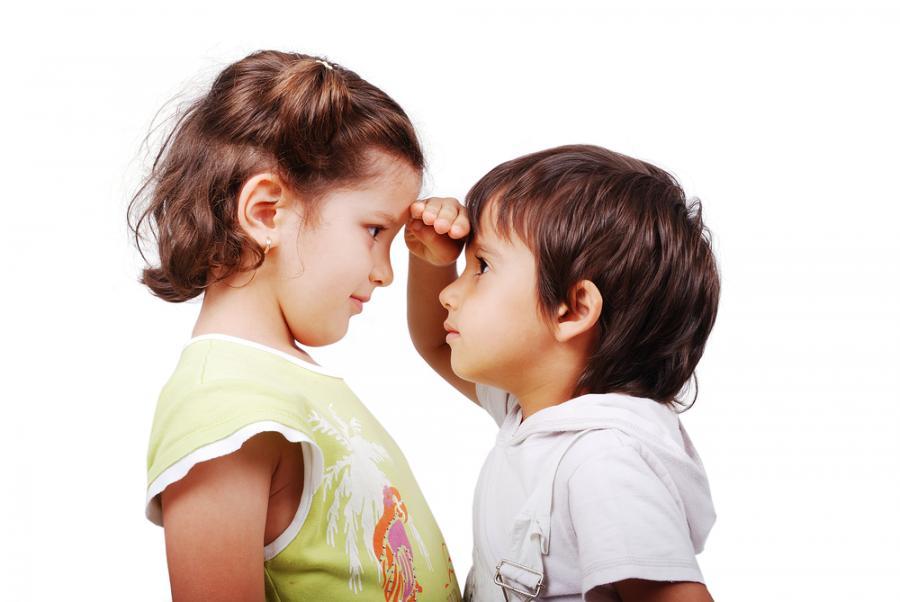 Porównujące się dzieci